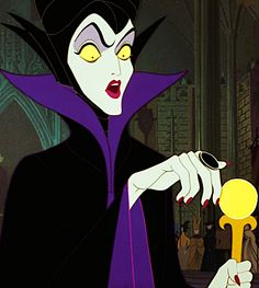 Maleficent- I have been in love with her charactor since childhood!