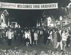 Here is a short history about the Grad Nite tradition at Disneyland Resort, including the new trend of grads getting to spend more time in the parks.