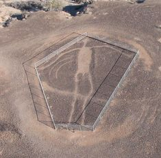 An image that just came up in the writing process - hadn't remembered that I even knew about this geoglyph being out near a main setting of the book.