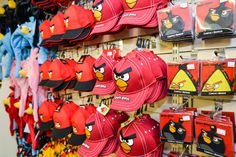 There's a fab selection of official Angry Birds gifts available at Lightwater Valley too!