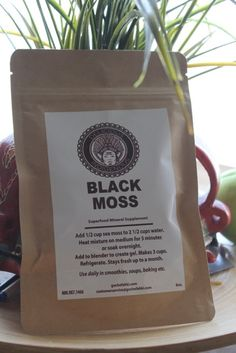 Black Moss is the ultimate superfood sea vegetable and healing supplement that offers 92 minerals of which the body is made. Available in 8oz packages. Black Moss can be used to prepare shakes, teas and more.