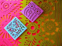 I love anything papel picado.