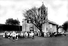 Church of San Solidad is the identification of this book illustration picture. Is this the correct name for the Church? Filipino Culture, Exotic Beaches, Enjoy The Sunshine, Pinoy, Southeast Asia, Old Photos, Philippines, The Good Place, Book Illustration