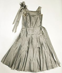 Dress, Evening  House of Lanvin (French, founded 1889)  Designer: Jeanne Lanvin (French, 1867–1946) Date: ca. 1930 Culture: French Medium: silk