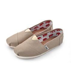 Women Canvas Stone Canvas Classics Toms Shoe