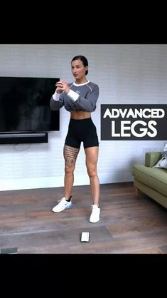 Legs Advanced Home Workout for Women