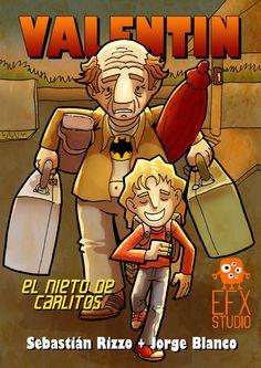 Ilustracion para el comic Valentin