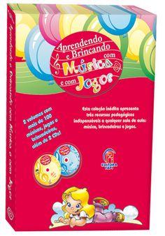 Coleção Aprendendo e Brincando com Música e Jogos - ISBN 8575142135