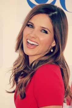 Sophia Bush. Personal Opinion - Possibly One Of The Most Beautiful People Ever. Gorgeous Hair. Lovely Smile. One Tree Hill.