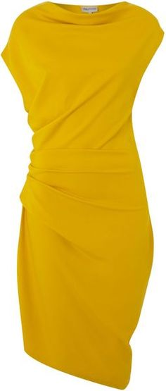 MARY PORTAS Twist-Detail No Brainer Dress - Lyst