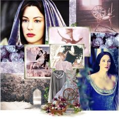 """Liv Tyler as Sleeping Beauty David Beckham as The Prince """"I thought I had wandered into a dream..."""" by elsabear on Polyvore"""