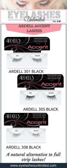 d1a6ec48163 Ardell Lash Trios Short BLACK. Ardell Eyelashes, Red Cherry Lashes,  Alternative. Eyelashes Unlimited