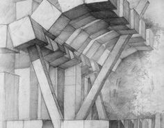 Artwork For Home Decoration Bedroom Drawing, Best Interior Paint, Artwork For Home, Point Perspective, Drawing Projects, Interiores Design, Decorative Items, Surrealism, Bedroom Decor