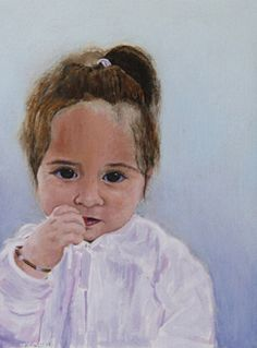 Livy by Kurt Weismair Acrylic ~ x Portrait, Painting, Collection, Art, Art Background, Headshot Photography, Painting Art, Kunst, Portrait Paintings