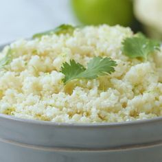 Coconut Lime Cauliflower Rice Recipe by Tasty