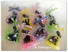 DIY Chocolate Easter Bunnies!