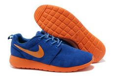 1b9bafb35a35 Find Nike Roshe Run Suede Mens Blue Marine Orange Shoes For Sale online or  in Footlocker. Shop Top Brands and the latest styles Nike Roshe Run Suede  Mens ...