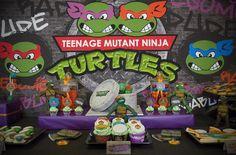 TMNT Party with Such Awesome Ideas via Kara's Party Ideas | KarasPartyIdeas.com #TeenageMutantNinjaTurtles #PartyIdeas #Supplies (18)