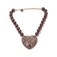 "Heidi Daus ""State of the Heart"" Crystal Drop Necklace"
