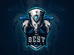 The Best Gaming Logo. designed by Lou An Phạm. Connect with them on Dribbble; Pet Logo, Monogram Logo, Logo Sp, Gaming Logo, Game Logo Design, Esports Logo, Sports Team Logos, Online Logo, Professional Logo Design