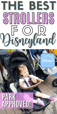 Traveling to Disney soon? Make sure you bring a Disney approved stroller! Here are the BEST strollers for Disney World and Disneyland that pass Disney's policy restrictions. These Disney stroller hacks will make traveling to Disney and enjoying the Disney park SO much easier! Disney Travel, Disney Cruise Line, Disney Trips, Traveling With Baby, Travel With Kids, Double Strollers, Baby Strollers, Strollers At Disney World, Flying With A Baby