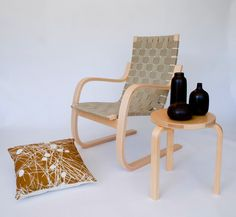 Alvar Aalto, Aalto pension chair, 406 Armchair