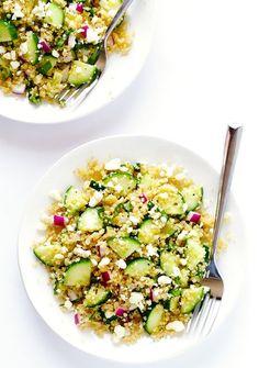 Quinoa-Gurken-Salat
