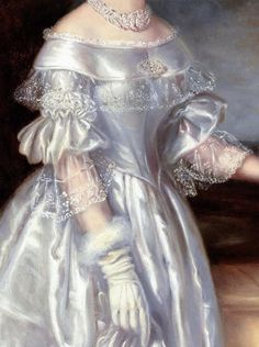 Old Fashion Dresses, Old Dresses, Pretty Dresses, Beautiful Dresses, Vintage Dresses, Aesthetic Painting, Aesthetic Art, Victorian Art, Victorian Fashion