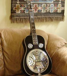 Gold Tone PBR Deluxe Paul Beard Signature Roundneck Round Neck Resonator Guitar