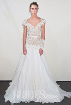 Brides: Victoria Kyriakides Wedding Dresses Spring 2015 Bridal Runway Shows Stunning Wedding Dresses, 2015 Wedding Dresses, Wedding Dress Styles, Wedding Gowns, J Aton Couture, Spring Dresses, Spring 2015, Bridal Collection, Dress Ideas