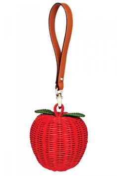 36 spring accessories that will warm up your wardrobe now. Kate Spade apple bag, $200. See the rest here: http://www.fashionmagazine.com/blogs/shopping/2013/03/27/must-have-spring-2013-accessories/