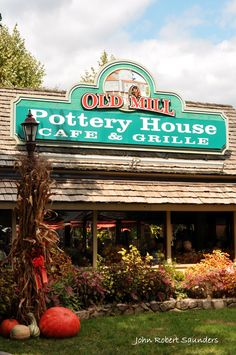 Pottery House Cafe & Grille at the Old Mill.