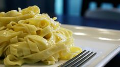 4 ingredients. The *real* alfredo, and SO easy.