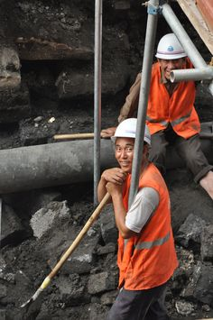 Construction workers are heroes because the supply the world with buildings and establishments.