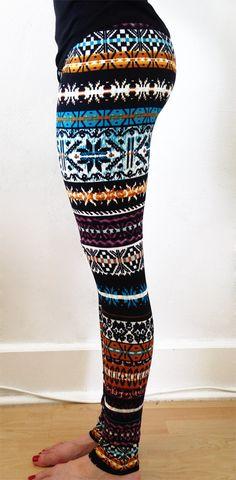 FREE SHIPPING !! Womens leggings,Christmas Leggings,yoga Leggings,patterned Leggings,tribal Leggings,aztec leggings,skull leggings