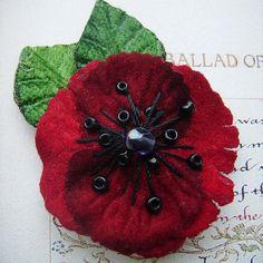 Tiny Poppy Pin (RBL Donation)
