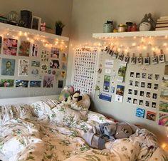 room do u like ikea? do u like ikea? Cute Room Decor, Pastel Room Decor, Indie Room Decor, Bedroom Vintage, Room Ideas Bedroom, Bedroom Decor, Bedroom Inspo, Ikea Bedroom, Small Room Design