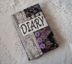 2013 Diary cover – Japanese oriental flower £8.50