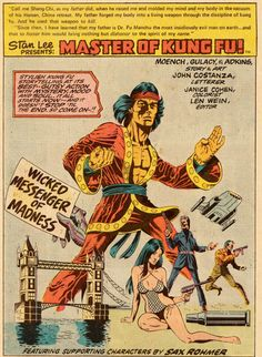Paul Gulacy and Doug Moench, Master of Kung Fu #33