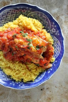 Spicy Tomato Broiled Lobster by Heather Christo, via Flickr