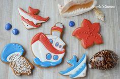 ⛵ #пряникиручнойработы #имбирныепряникиназаказ #сладкийподарок #gingerbread #royalicingcookies #artcookies #angelassweets