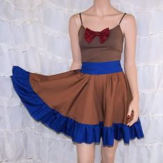 11th Doctor Who Bowtie Summer Dress Cosplay Costume Adult Medium MTCoffinz- Ready to Ship on Etsy, R$178,77
