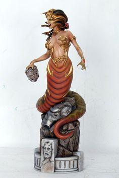 Medusa Fantasy Figure Gallery Greek Mythology 1/6 Scale Statue - Click Image to Close