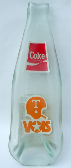 TENNESSEE 1985 Upcycled Vintage Coke Bottle Slumped by becadesigns........love this:)