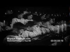 HD Stock Footage WWII Battle of Britain Reel 6