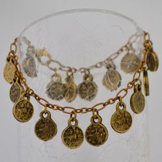 SO gorgeous!!!  Coin bracelet....actually VINTAGE coins! Cool! Coin Bracelet, Bracelets, Fair Trade Clothing, Coins, Cool Stuff, My Style, Handmade, Vintage, Beautiful