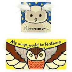 Jellycat Owl Book