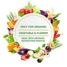 Only For Organic Vegetable & Flower Seeds with Growing Instruction Manual  Vist our Amazon store to buy Organic seeds online & All India Free Delivery Seeds Online, Organic Seeds, Organic Vegetables, Flower Seeds, Table Decorations, Bradford, Free Delivery, Amsterdam, Manual