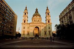 St. Stephan's Basillica. Budapest.