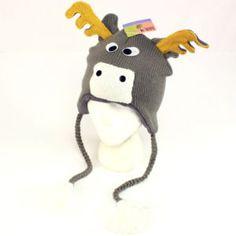 animal ear flap hats!!